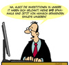 Cartoon: IT - Entwicklung (small) by Karsten tagged computer,technologie,entwicklung,kommunikation,mails,spam,investitionen,it