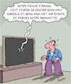 Cartoon: La femme a raison (small) by Karsten tagged espionnage,europe,usa,cia,bnd,nsa,democratie,scandale,politique