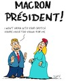 Cartoon: Macron President (small) by Karsten tagged elections,france,europe,macron,old,age,marriage,love,women,men,gap,politics