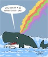 Cartoon: Merci Greta! (small) by Karsten tagged pollution,oceans,nature,animaux,climat,greta