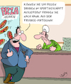 Cartoon: Pizza (small) by Karsten tagged ernährung,fastfood,gesundheit,pizza,sport,verkaufen,marketing,business,wirtschaft,gastronomie,umsatz