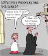 Cartoon: Prayers (small) by Karsten tagged religion,catholicism,christianity,priests,child,abuse,crime,churches,society,social,issues