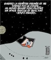 Cartoon: Quand il fait froid (small) by Karsten tagged espace,science,recherche,technologie,temperatures