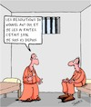 Cartoon: Resolutions du Nouvel An (small) by Karsten Schley tagged resolutions,crime,prison,justice,lois