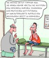 Cartoon: Tapfer (small) by Karsten tagged medien,humor,religion,politik,spott,karikaturen,cartoons,zensur,gesellschaft