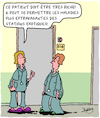 Cartoon: Vacances (small) by Karsten tagged maladies,vacances,cliniques,fortune,soignantes,sante,medical,voyages