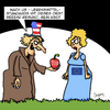Cartoon: Voll gesund!! (small) by Karsten tagged ttip,usa,europa,handel,handelsabkommen,politik,wirtschaft,business,kapitalismus,gesundheit,lebensmittelstandards,sozialstandards