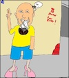 Cartoon: Mad Guy (small) by Amokkritzler tagged madness,verrücktheit,joint,drogen,kiffen