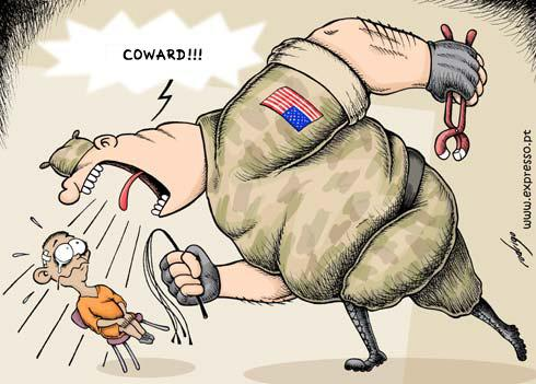 Guantanamo Bay torture, cartoon
