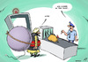 Cartoon: Airport security (small) by rodrigo tagged airport,security,body,scanner,terrorism,terror,bomb,police