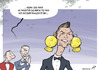 Cartoon: Golden Ronaldo (small) by rodrigo tagged cristiano,ronaldo,football,portugal,real,madrid,balon,dor,fifa,messi,ribery