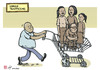 Cartoon: Human Trafficking (small) by rodrigo tagged human,trafficking,slavery,third,world,poverty,rights,freedom