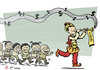 Cartoon: The Pied Piper of e-Hamelin (small) by rodrigo tagged jack,ma,alibaba,internet,ecommerce,money,startups