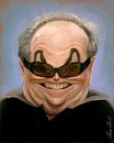 Cartoon: jack nicholson (small) by alvarocabral tagged caricature,caricatura