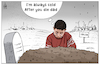 Cartoon: Being a child in Idlib ! (small) by Mikail Ciftci tagged child,idlib,syria,war,refugee