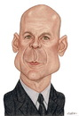 Cartoon: Bruce Willis (small) by Gero tagged caricature