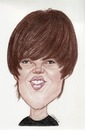 Cartoon: Justin Bieber (small) by Gero tagged caricature
