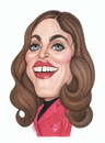 Cartoon: Madonna (small) by Gero tagged caricature