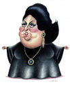 Cartoon: Montserat Caballe (small) by Gero tagged caricature