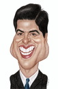Cartoon: Ray Romano (small) by Gero tagged caricature