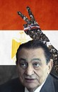 Cartoon: revolution in Egypt (small) by tanerbey tagged revolution egypt hosni mobarak