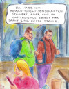 Cartoon: Berufsakademiker (small) by Bernd Zeller tagged uni