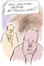 Cartoon: Kriterium (small) by Bernd Zeller tagged korrektheit