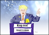 Cartoon: King next (small) by Fish tagged boris,johnson,bexit,great,britain,england,wahlen,parlamentswahlen,general,election