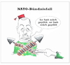 Cartoon: Nato-Bündnisfall (small) by Fish tagged politik,nato,erdogan,türkei