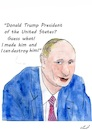 Cartoon: Donald T President (small) by Stefan von Emmerich tagged vote,him,away,donald,trump,dump,president,america,the,liar,tweets,tonight