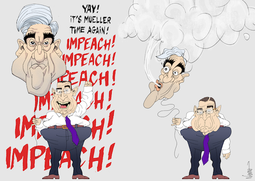 Cartoon: Mueller and Impeachment Deflate (medium) by NEM0 tagged us,usa,robert,mueller,report,sedition,coup,congress,hearings,intelligence,intel,committee,special,counsel,prosecutor,prosecution,impeachment,impeach,jerrold,nadler,dems,dnc,russiagate,collusion,obstruction,trump,steele,dossier,nem0,us,usa,robert,mueller,report,sedition,coup,congress,hearings,intelligence,intel,committee,special,counsel,prosecutor,prosecution,impeachment,impeach,jerrold,nadler,dems,dnc,russiagate,collusion,obstruction,trump,steele,dossier,nem0