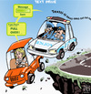 Cartoon: Text Drive (small) by NEM0 tagged accident accidents cars autos car driver drivers auto cell phone cop cops danger distraction driving phones text texts texter texters message mobile police patrol road ride smart texting