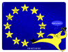 Cartoon: UK in the EU (small) by NEM0 tagged uk,eu,europe,economy,euro,eurozone,cameron,england,gb,great,britain,european
