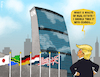 Cartoon: UNfit (small) by NEM0 tagged un,united,nations,donald,trump,president,states,real,estate,condos,ny,new,york,usa,nwo,world,order,nemo,nem0