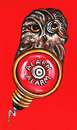 Cartoon: owl alarm (small) by Battlestar tagged owl eule tiere animals nature illustration alarm