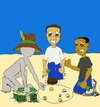 Cartoon: High Stakes (small) by Shantrey17 tagged dynomite,johnson,good,advice