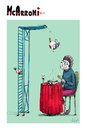 Cartoon: McArroni Nr. 119 (small) by julianloa tagged mcarroni,amadeo