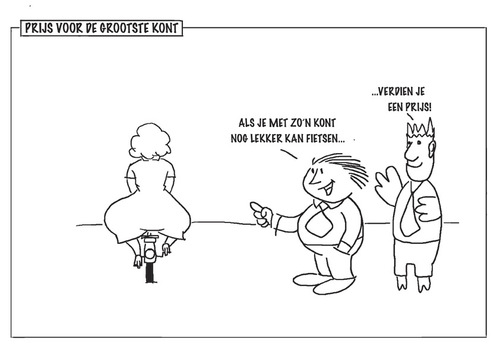 Cartoon: Prit en Prat (medium) by marinus tagged fun,humor,cartoon