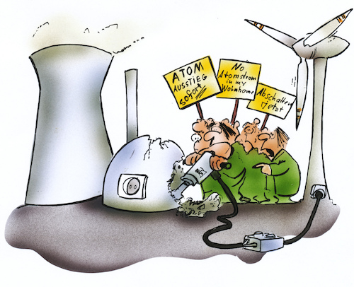 Cartoon: Atomausstieg (medium) by HSB-Cartoon tagged atom,energie,atomenergie,atomausstieg,ausstieg,erneuerbare,energien,ressourcen,strom,stromversorgung,atomkraftwerk,akw,demonstration,demo,hsb,hsbcartoon,airbrush,cartoon,karikatur,illustration,windrad,windenergie,umwelt,umweltschutz,natur,klima,klimaschutz,atom,energie,atomenergie,atomausstieg,ausstieg,erneuerbare,energien,ressourcen,strom,stromversorgung,atomkraftwerk,akw,demonstration,demo,hsb,hsbcartoon,airbrush,cartoon,karikatur,illustration,windrad,windenergie,umwelt,umweltschutz,natur,klima,klimaschutz