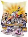 Cartoon: Bikertreff (small) by HSB-Cartoon tagged bike,cake,coffee,friends,gettogether,meeting,motor,motorbike,motorcycle,table,airbrush,bande,bier,biker,bikerstammtisch,club,gang,helm,hsb,hsbcartoon,illustration,kaffee,und,kuchen,karikatur,motorrad,motorradbande,motorradclub,motorradfahrer,rocker,stammtisch,treff,treffpunkt