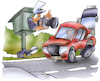 Cartoon: Blitzer (small) by HSB-Cartoon tagged car,speed,traffic,airbrush,auto,autos,autoverkehr,blitzer,cartoon,foto,geschwindigkeit,hsb,hsbcartoon,hsbc,illustration,karikatur,karikaturist,lokalkarikatur,polizei,raser,sicherheit,starenkasten,straßenverkehr,verkehr,verkehrsüberwachung