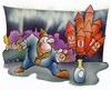 Cartoon: Happy New Year (small) by HSB-Cartoon tagged new,year,sylvester,neujahr,feuerwerk,rakete,rocket,firework,airbrush
