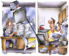 Cartoon: Homeoffice (small) by HSB-Cartoon tagged homeoffice,büro,angestellter,arbeit,büroarbeit,haushaltsarbeit,kinderbetreuung,chef,computer,internet,computerarbeit,job,manager,handel,karriee,verwaltung,cartoon