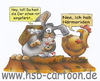 Cartoon: Ostereiersuche (small) by HSB-Cartoon tagged ostern,osterhase,ostereier,huhn,henne,osternest,nest,ei,hase,cartoon,caricature,auirbrush