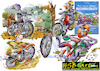 Cartoon: outdoor biker (small) by HSB-Cartoon tagged motorrad,motorradfahrer,enduro,honda,yamaha,husqvarna,ktm,gasgas,aprilia,suzuki,kawasaki,tm,outdoor,bike,biker,bikerszene,cartoon,cartoonmotiv,cartoonzeichner,cartoondesign,illustration