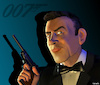 Cartoon: Sean Connery as James Bond (small) by Cartoonfix tagged sean,connery,as,james,bond