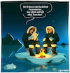 Cartoon: Survival Guide (small) by Cartoonfix tagged globale,erwärmung,umweltschutz,ozonschicht