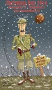 Cartoon: Merry Christmas!! (small) by campbell tagged christmas,football,war,snow,trenches,history