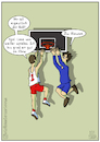 Cartoon: Wo ist der Ball? (small) by Olaf Biester tagged ball,baskeball