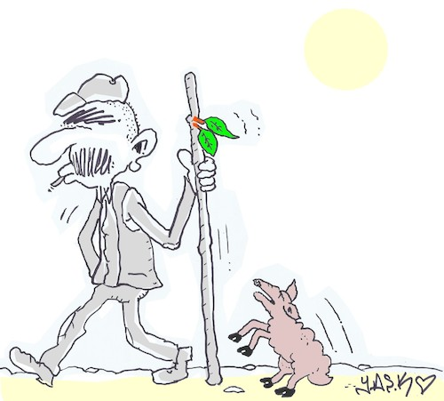 Cartoon: scent of green (medium) by yasar kemal turan tagged scent,of,green